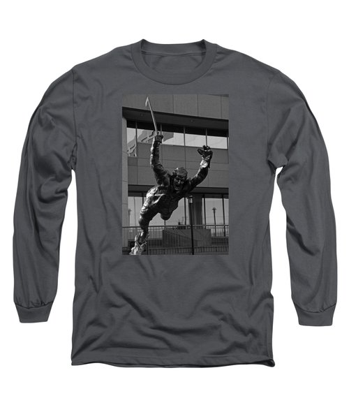 Long Sleeve T-Shirt featuring the photograph The Goal by Mike Martin