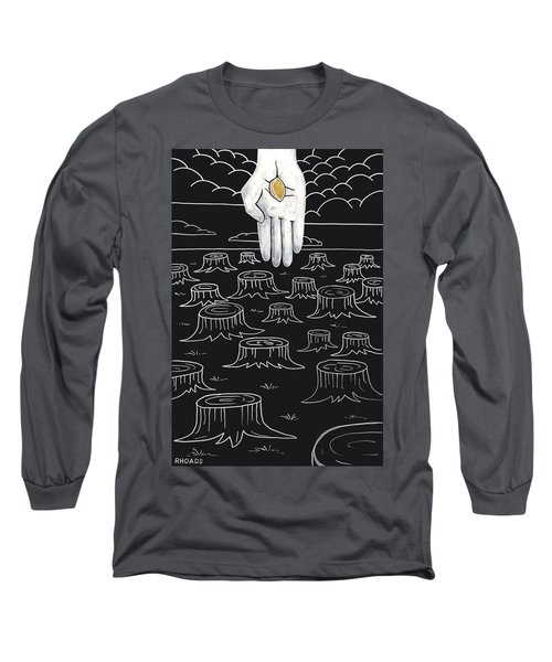 The God Who Restores Long Sleeve T-Shirt