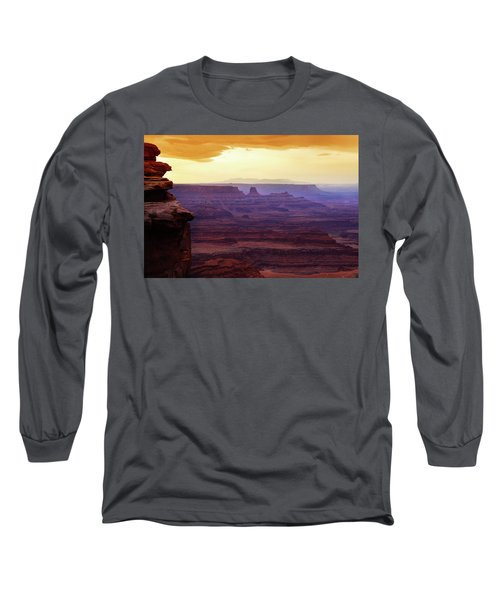 The Gold Light Of Dawn Long Sleeve T-Shirt