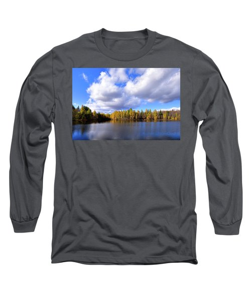 Long Sleeve T-Shirt featuring the photograph The Golden Forest At Woodcraft by David Patterson