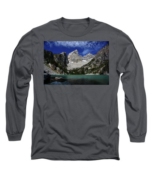 The Grand And Mount Owen From Delta Lake Long Sleeve T-Shirt