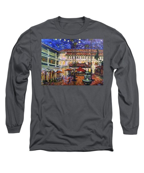 The Grand Dame's Courtyard Cafe  Long Sleeve T-Shirt