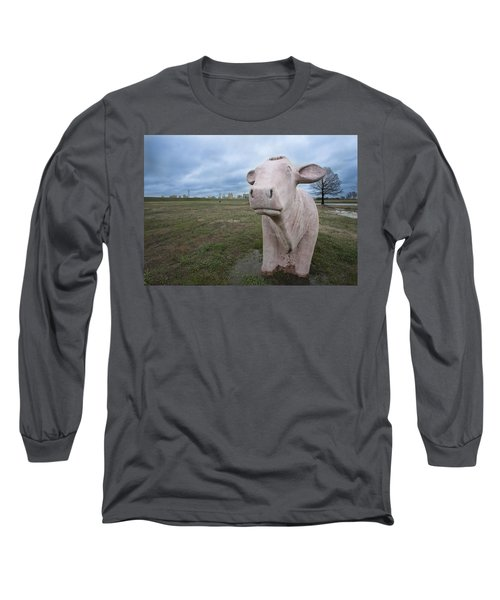 The Granite Cow Long Sleeve T-Shirt
