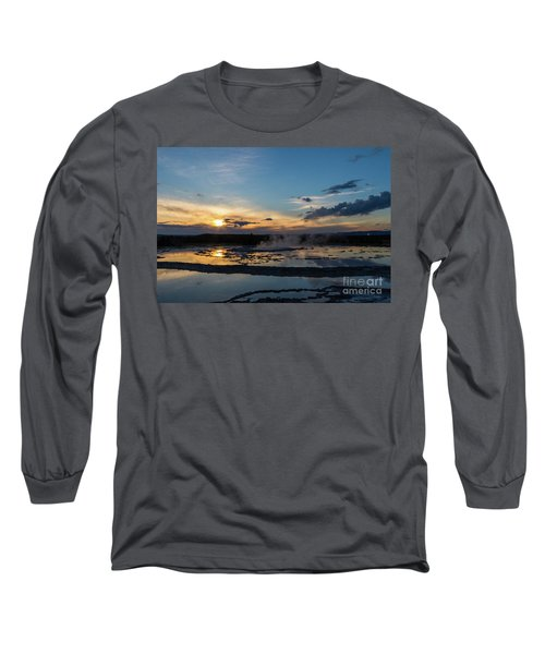 The Great Fountain Geyser Long Sleeve T-Shirt