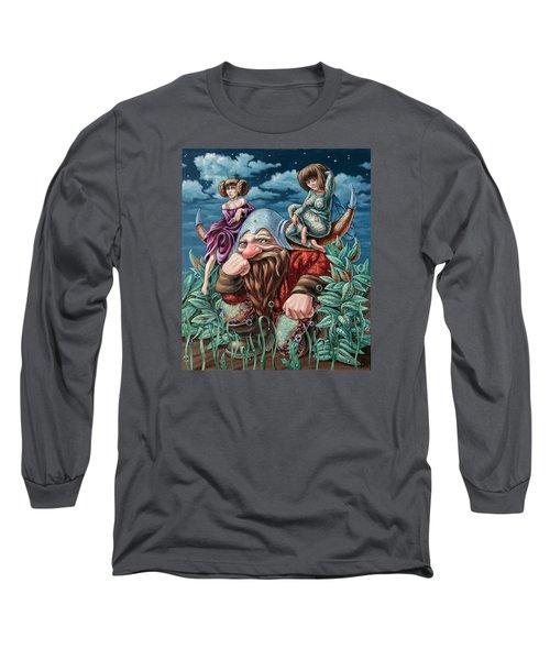 The Great Horns Long Sleeve T-Shirt