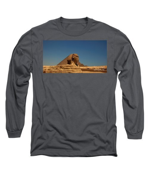 The Great Sphinx Of Giza 2 Long Sleeve T-Shirt