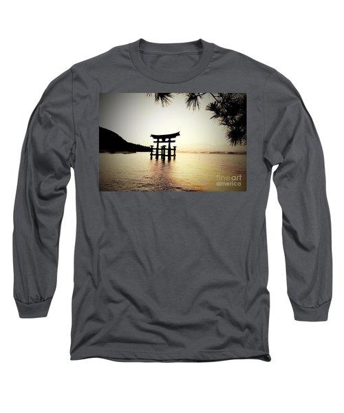 The Great Torii  Long Sleeve T-Shirt