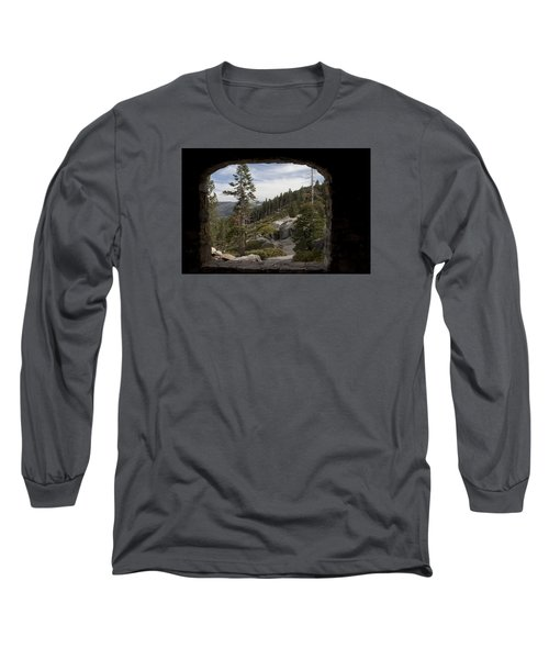 The Great View Of Yosemite Long Sleeve T-Shirt by Ivete Basso Photography