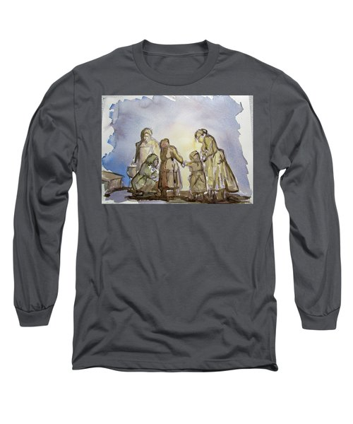 The Greatest Ever Drawing Long Sleeve T-Shirt