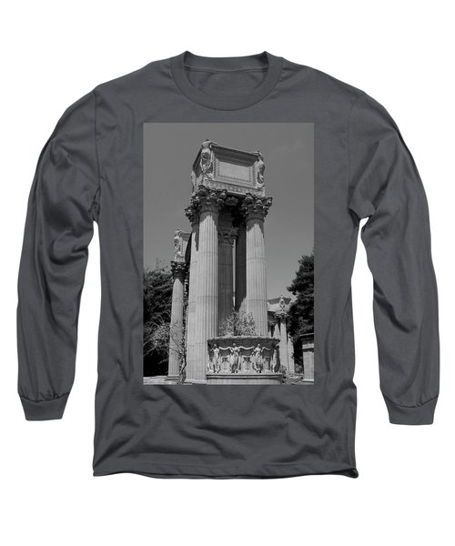 The Greek Architecture Long Sleeve T-Shirt