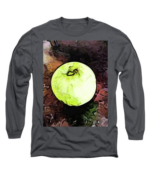 The Green Apple In The Bright Light Long Sleeve T-Shirt