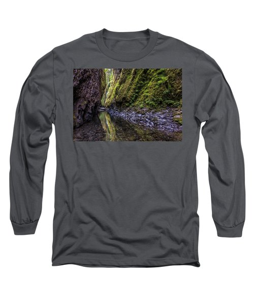 Long Sleeve T-Shirt featuring the photograph The Green Canyon Of Oregon by Pierre Leclerc Photography