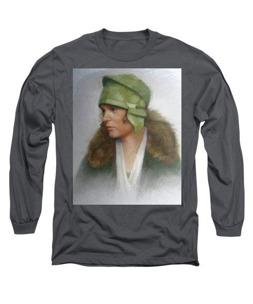 The Green Hat Long Sleeve T-Shirt