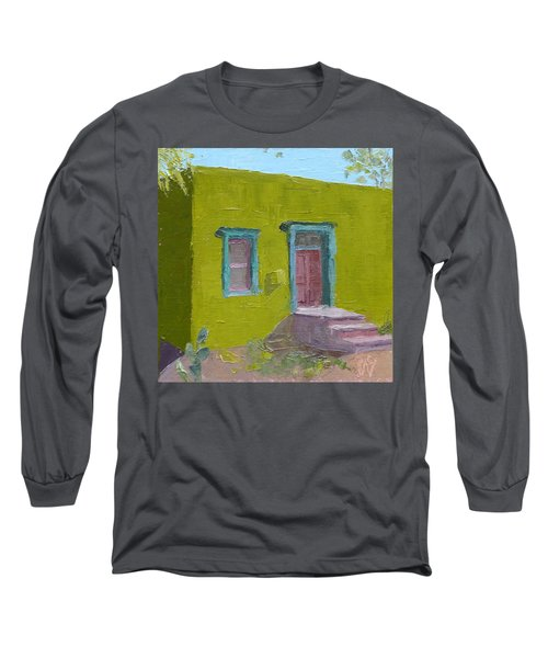 The Green House Long Sleeve T-Shirt by Susan Woodward