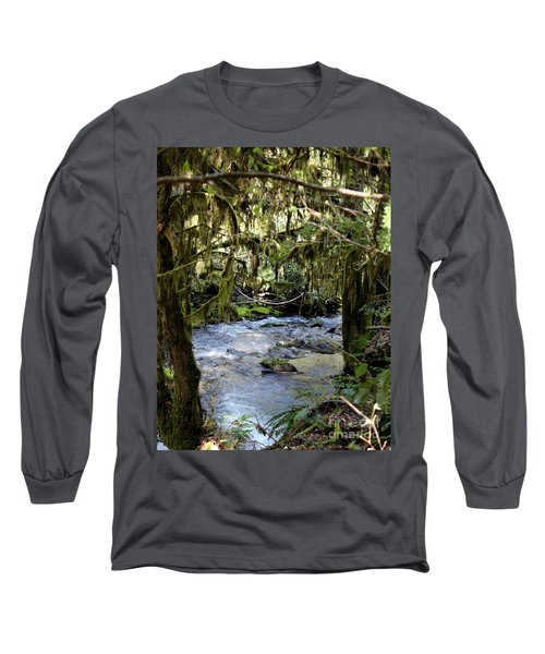 The Green Seen Long Sleeve T-Shirt by Marie Neder