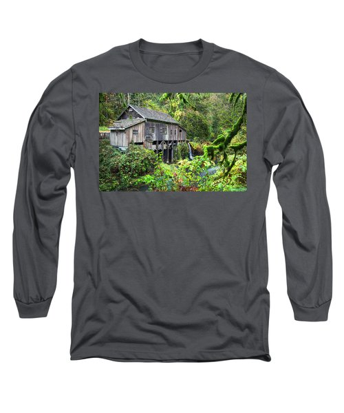 The Grist Mill, Amboy Washington Long Sleeve T-Shirt