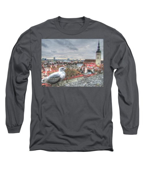 The Guard Of Tallinn Long Sleeve T-Shirt by Yury Bashkin