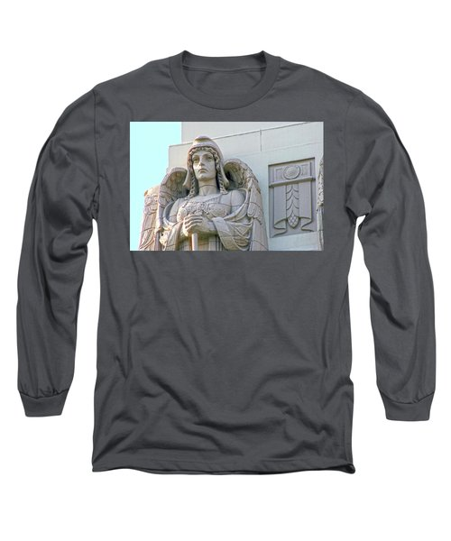 The Guardian Angel On Watch Long Sleeve T-Shirt