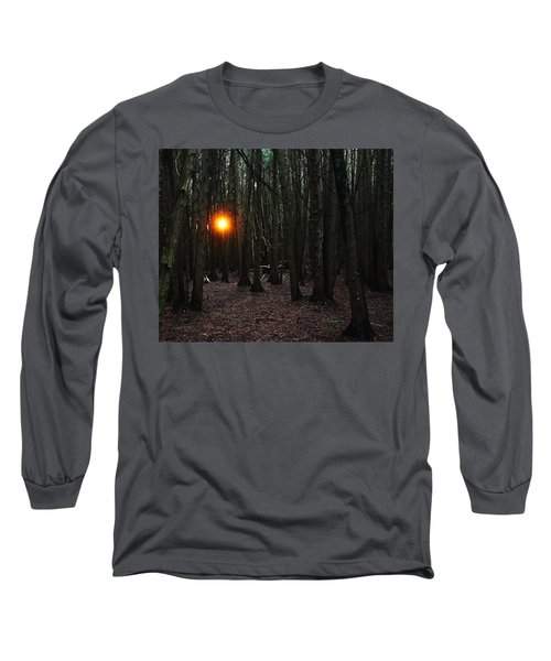 Long Sleeve T-Shirt featuring the photograph The Guiding Light by Debbie Oppermann