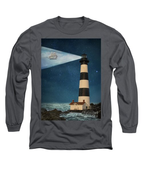Long Sleeve T-Shirt featuring the photograph The Guiding Light by Juli Scalzi