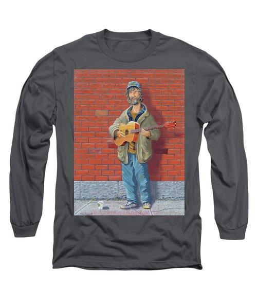 The Guitarist Long Sleeve T-Shirt