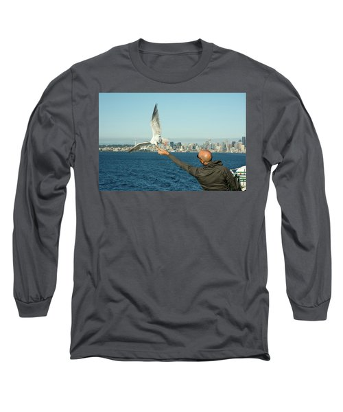 The Hand That Feeds You. Long Sleeve T-Shirt