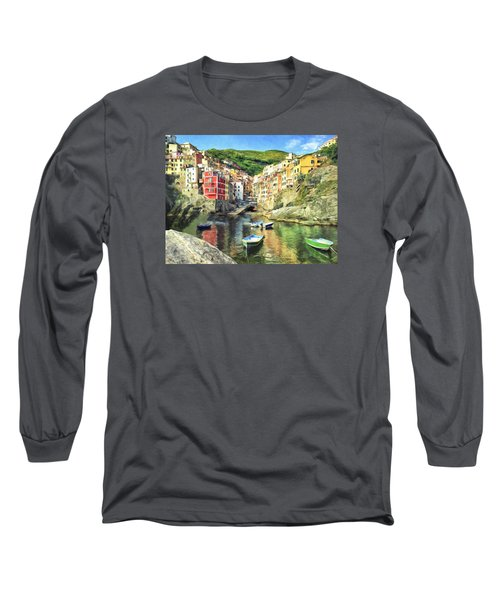The Harbor At Rio Maggiore Long Sleeve T-Shirt