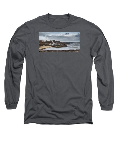The Harbour Of Crail Long Sleeve T-Shirt by Jeremy Lavender Photography