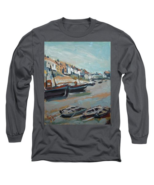 The Harbour Of Mevagissey Long Sleeve T-Shirt