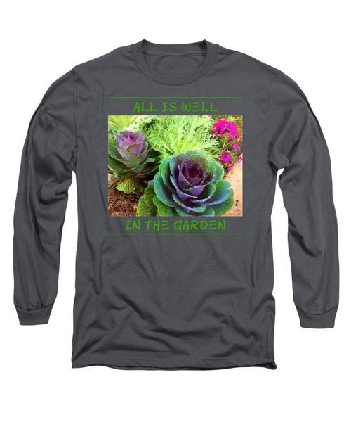 The Healing Garden Long Sleeve T-Shirt