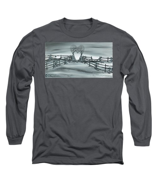 The Heart Of Everything Long Sleeve T-Shirt by Kenneth Clarke