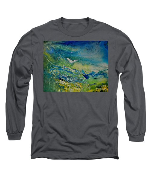 The Heavens And The Eart Long Sleeve T-Shirt