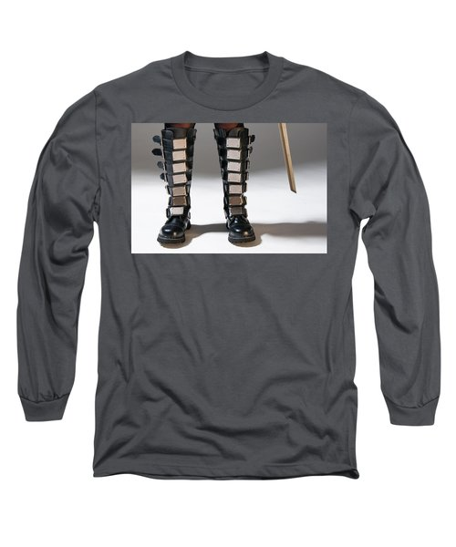 The Heroine Stands Long Sleeve T-Shirt