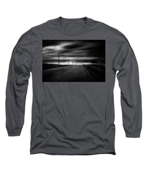 The Highway Long Sleeve T-Shirt by Dan Jurak
