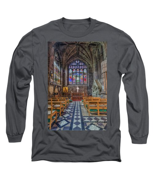 The Holy Cross Long Sleeve T-Shirt by Ian Mitchell