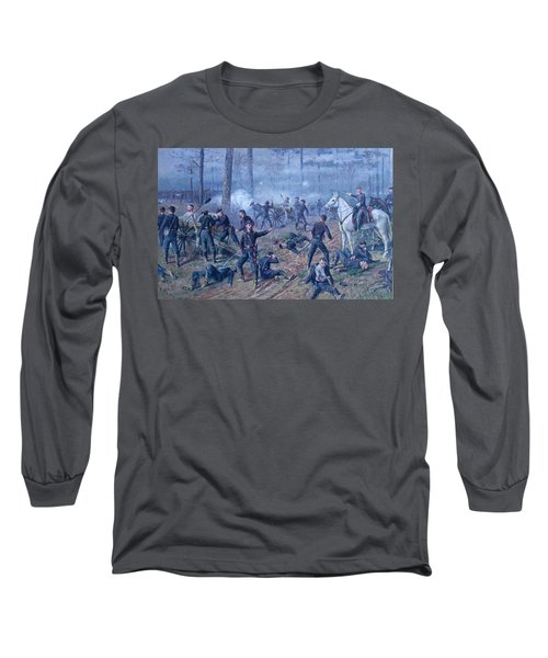 Long Sleeve T-Shirt featuring the painting The Hornets' Nest by Thomas Corwin Lindsay