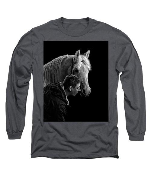 The Horse Whisperer Extraordinaire Long Sleeve T-Shirt