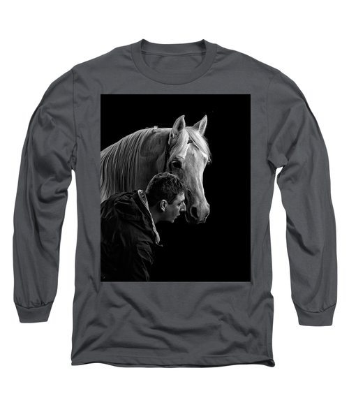 The Horse Whisperer Extraordinaire Long Sleeve T-Shirt