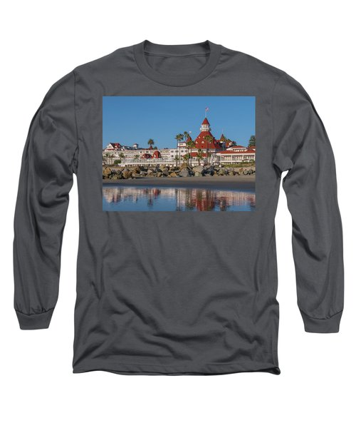 The Hotel Del Coronado Long Sleeve T-Shirt
