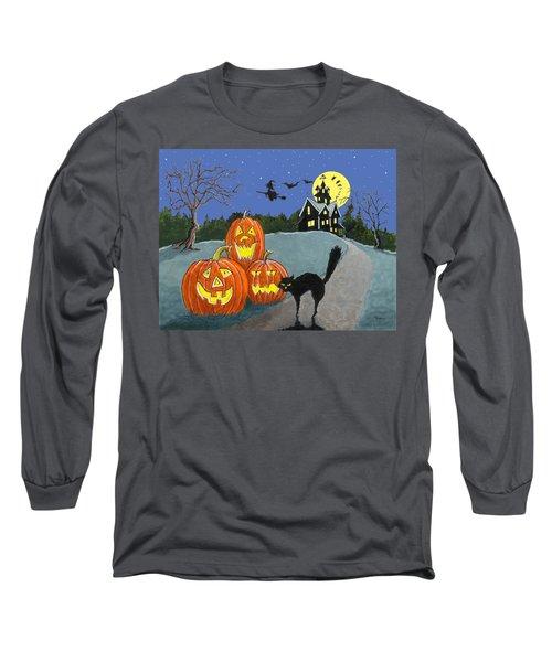 The House On Cemetery Hill Long Sleeve T-Shirt