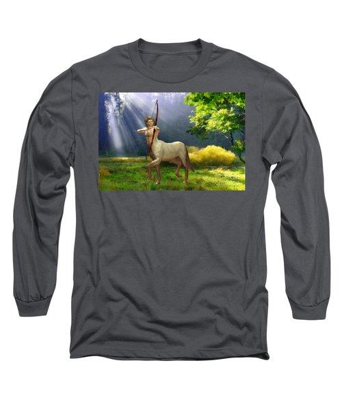 The Hunter Long Sleeve T-Shirt by John Edwards