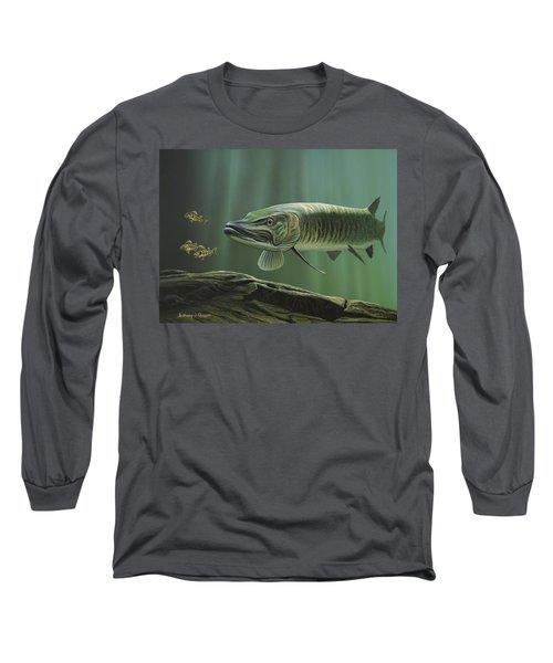 The Hunter - Musky Long Sleeve T-Shirt