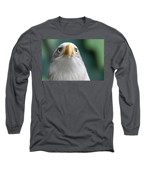 Long Sleeve T-Shirt featuring the photograph The Hunters Stare by Laddie Halupa