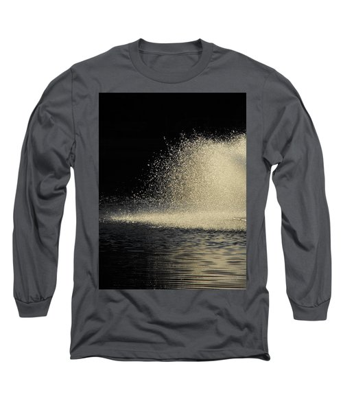 The Illusion Of Dark And Light With Water Long Sleeve T-Shirt