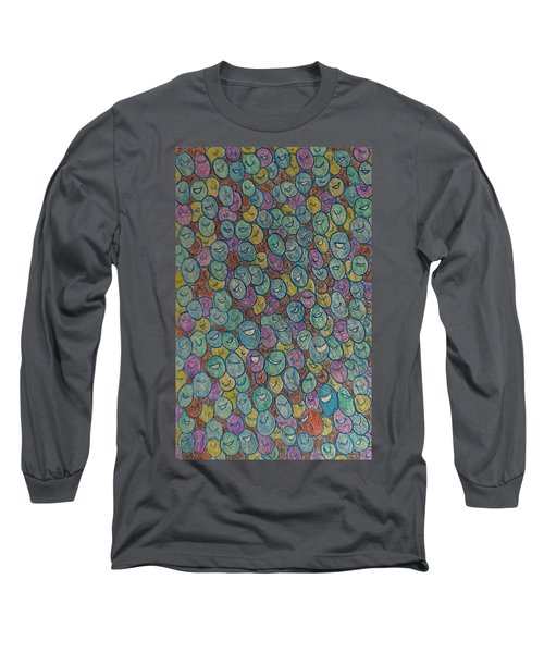 The Immigrant Journey Up Long Sleeve T-Shirt