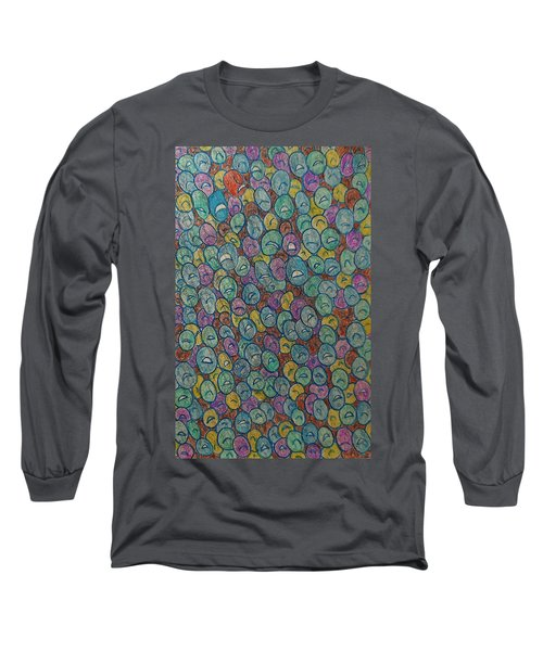 The Immigrant Journey Down Long Sleeve T-Shirt