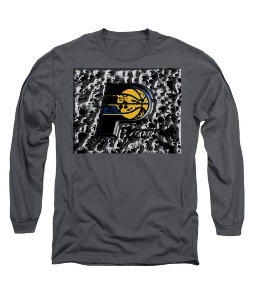 The Indiana Pacers Long Sleeve T-Shirt by Brian Reaves