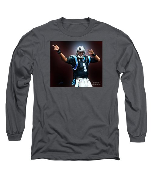 The Inevitable Cam Newton1 Long Sleeve T-Shirt