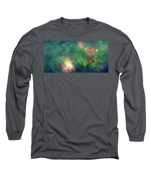 Long Sleeve T-Shirt featuring the photograph The Invisible Dragon by NASA JPL-Caltech