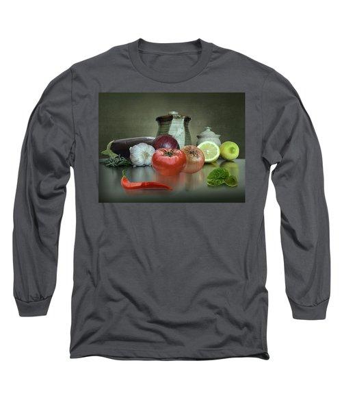 The Italian Kitchen Long Sleeve T-Shirt